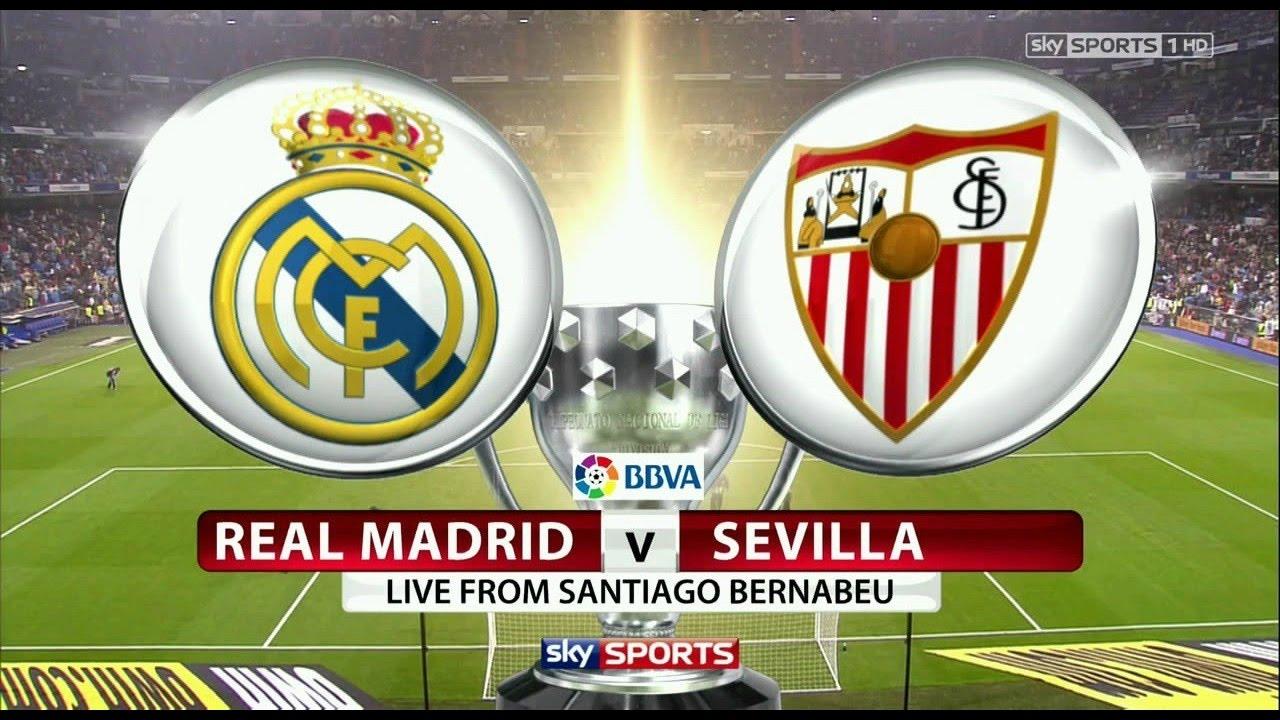 Prediksi Real Madrid vs Sevilla Fc 09 Desember 2017