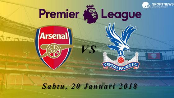 Arsenal vs Crystal Palace 20 Januari 2018