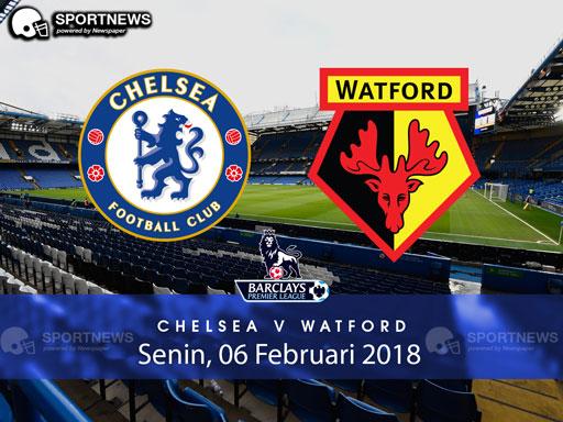 Chelsea vs Watford 06 Februari 2018