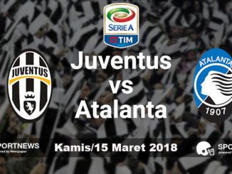 Juventus vs Atalanta 15 Maret 2018