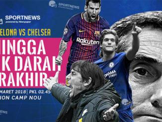 Barcelona vs Chelsea 15 Maret 2018