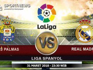 Las Palmas vs Real Madrid31 Maret