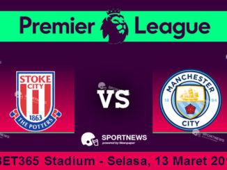 Stoke City vs Manchester City 13 Maret 2018