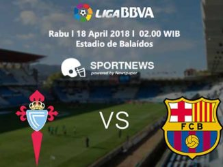 celta vigo vs barcelona 18 april - agen bola terpercaya
