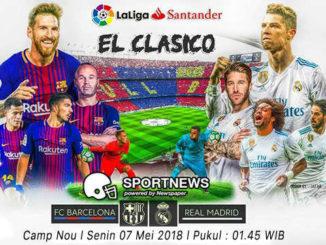barcelona vs real madrid 7 mei - agen bola terpercaya