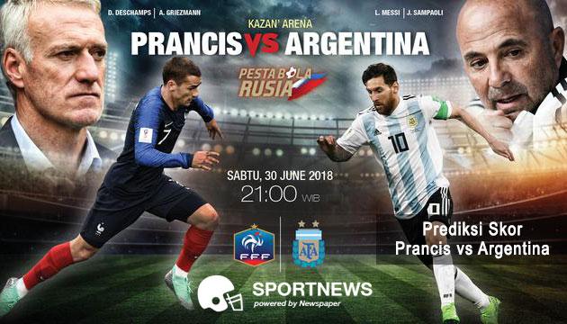 Prancis vs argentina - agen bola terpercaya