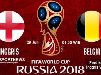 inggris vs belgia - agen bola piala dunia 2018