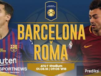 barcelona vs roma 1 agustus - agen bola terpercaya