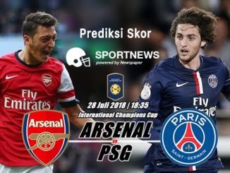 arsenal vs paris saint germain 28 juli - agen bola terpercaya