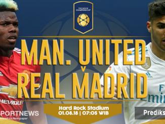 manchester united vs real madrid 1 agustus - agen bola terpercaya