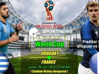uruguay vs prancis - agen bola terpercaya