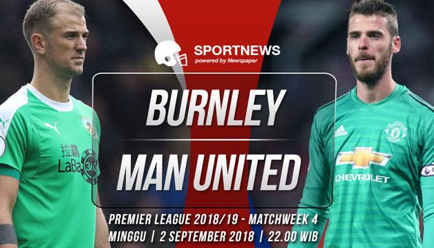 burnley vs manchester united 2 september - agen bola terpercaya