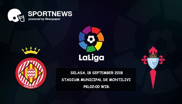 Prediksi Skor Girona vs Celta Vigo 18 September 2018 - Prediksi Bola Palugadabet