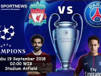 Prediksi Skor Liga Champions Liverpool vs PSG - Agen Bola Terpercaya Paluagabet