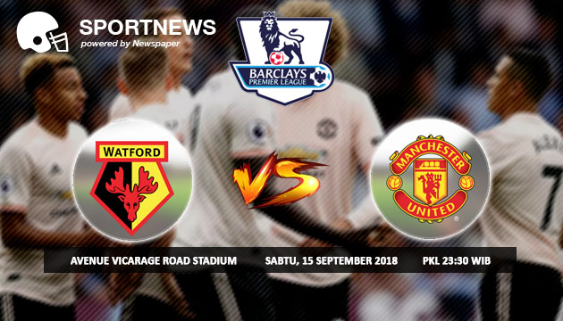 Prediksi Skor Watford VS Manchester United 15 September 2018 - Prediksi Palugada